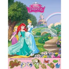 A fun sticker and colouring activity in one! These Disney Princess sticker activity sheets feature die cut stickers to finish the fun scene on the front and colouring, word games and other activities on the back. Activity Books, Activity Sheets, 1000 Books Before Kindergarten, Sticker Books, Color Activities, Coloring Books, Scene, Stickers, Disney Princess