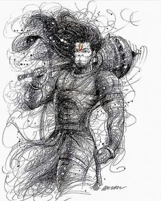 Image may contain: drawing Anjaneya, Shiva Shakti, Hanumaan, Hanuman Wallpaper, Lord Shiva Painting