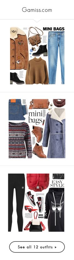 """""""Gamiss.com"""" by beebeely-look ❤ liked on Polyvore featuring gamiss, 7 For All Mankind, Burberry, Bobbi Brown Cosmetics, StreetStyle, streetwear, minibags, falltrend, PS Paul Smith and Louis Vuitton"""