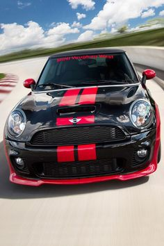 Mini Cooper JCW - Black red