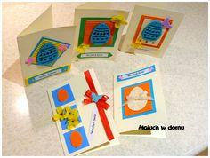 Maluch w domu: DIY: Kartki Wielkanocne handmade