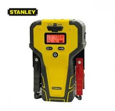 The Stanley Lithium Ion Jump Starter is virtually always ready to 'jump' a car. The lithium ion technology provides up to 5x battery life, up to 1,000 charges, and holds 80-90 percent of charge after 1 year. Ideal for small vehicles and/or motorcycles, lawn and farm equipment. It's reverse connection alarm provides audible and visual warning for safety. It's compact design is up to 60 percent smaller and 40 percent lighter than traditional jumpers. This includes USB power outlet to recharge…