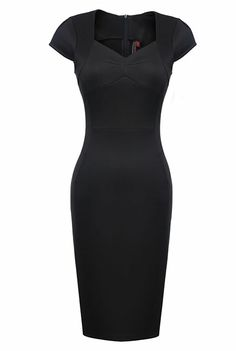 Womens V neck Mini OL BIZ Cocktail Evening Party Pencil Bodycon Sexy Dress Features:  Intro: Cap sleeleves, Bodycon, Pencil dress, Formal, Celeb.  Color:Black Material:  Polyester Package:1 x Dress (other accessories on pictures are NOTincluded.)