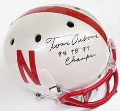 Nebraska Cornhuskers Signed Helmets