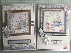 Hunkydory Floral Breeze It's Your Birthday, Birthday Cards, Kanban Cards, Crafters Companion Cards, Diy Cards, Handmade Cards, Hunkydory Crafts, Card Companies, Heartfelt Creations