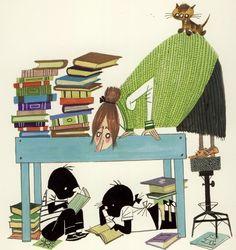 Jip en Janneke lezen (are reading) One of the best children's books in Holland...