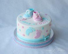 Torta Baby Shower, Idee Baby Shower, Simple Baby Shower, Baby Shower Cupcakes, Shower Cakes, Gender Reveal Party Games, Gender Reveal Party Decorations, Gender Party, Reveal Parties