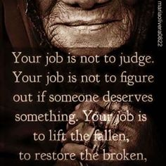 Lift the fallen. Encouragement Quotes, Bible Quotes, Bible Verses, Scriptures, Caregiver Quotes, Truth Hurts, Care Quotes, Good Thoughts, Quotes To Live By
