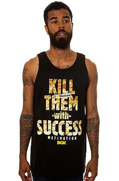 DGK Tank Top success in Black 20% off your order with Rep Code: PAMM6