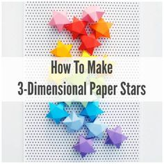 Making Paper Stars And What To Do With Them