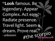 The Scorpio......