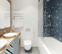 It must be an excellent idea when you think of having unique bathroom decor ideas. There is a lot of things that you need to prepare for your bathroom. Modern Farmhouse Bathroom, Modern Bathroom Decor, Bathroom Interior Design, Small Bathroom, Bathroom Ideas, Bad Inspiration, Bathroom Inspiration, Toilette Design, Yellow Bathrooms