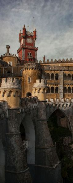 Da Pena Castle, Sintra, Portugal: