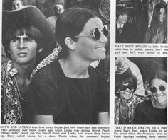Davy Jones, Linda Jones - Tiger Beat - June, 1969