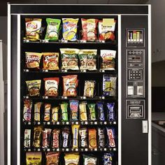 The Trick to Picking Healthier Snacks: A 25-Second Delay on Vending Machines