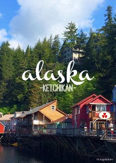 Ketchikan, Alaska Add this stop to your travel bucket list! Such a colorful, quant town with stunning excursions. | vacation