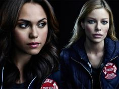 The fearless and dedicated paramedics of Firehouse 51.  (Monica Raymund)		  Gabriela Dawson  (Lauren German) 	 	  Leslie Shay