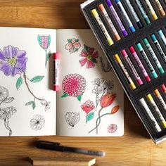 pen and soft Pastel, Drawings, Illustration, Instagram Posts, Artwork, Artist, Painting, Cake, Work Of Art