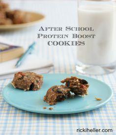 After School Energy Cookies for Attune Foods