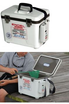 Other Fishing Rods 166161: Engel Live Bait Cooler 13Qt (Aereated Minnow Bucket) (Crappie Pole,Rod) Englbc13 -> BUY IT NOW ONLY: $64.99 on eBay!