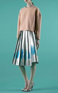 Vika Gazinskaya Spring/Summer 2014 Trunkshow Look 29 on Moda Operandi