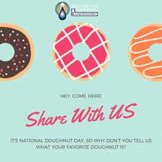 Happy #NationalDoughnutDay! Celebrate by telling us what your favorite doughnut is! #SoutheastPlumbing # - http://ift.tt/1HQJd81