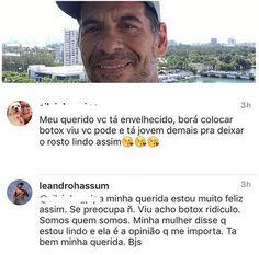 Após 62 quilos perdidos Leandro Hassum responde críticas na web