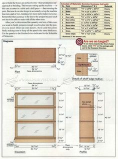 1029 Barrister Bookcase Plans Furniture And Projects