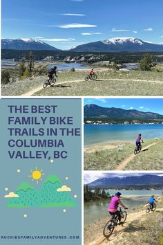 The Best Family Bike Trails in the Columbia Valley, BC Radium Hot Springs Kimberley Fairmont Invermere Golden British Columbia Bike Trails, Biking, Tourism Victoria, Forest Bathing, Canadian Travel, Visit Canada, Bike Rides, Backpacking Tips, Back To Nature