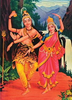 Lord Shiva and Mata Parvati
