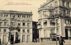 Rotonda de Sres. de Rodríguez (actual edificio de Banesto, 1910)