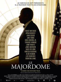 Le Majordome est un film de Lee Daniels avec Forest Whitaker, Oprah Winfrey. Synopsis : Le jeune Cecil Gaines, en quête d'un avenir meilleur, fuit, en 1926, le Sud des États-Unis, en proie à la tyrannie ség