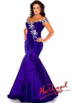 Fabulouss Plus Size 82061F at Prom Dress Shop