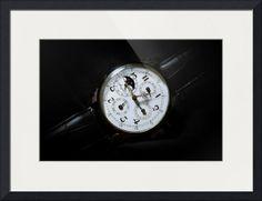 "Breguet Moonphase Triple Calendar Swiss watch framed print in default configuration. Price starts at $104 (Petite 17.5"" x 20.5""). http://www.imagekind.com/Breguet-Moonphase-Triple-Calendar-Swiss-Timepiece_art?IMID=60cf7cc5-000e-433f-9585-738260b6974f"