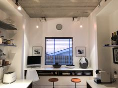 BM Architects is a Cape Town based architectural practice, that practices in high end private residence, Heritage buildings, Commercial and Industrial Architecture. Semi Detached, Detached House, Concrete Ceiling, Industrial Style Kitchen, Steel Shelving, Industrial Architecture, Open Concept, Ceilings, Architects