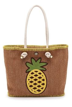 knotted pineapple tote