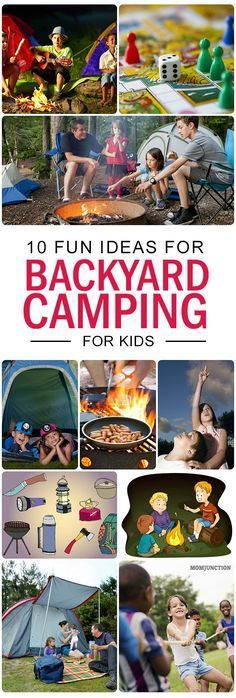 Backyard Camping For Kids: If you have time restraint, you can pitch a tent in the backyard itself. It will give you the joy of camping within the comforts of your neighborhood! Want to know ten tips to go backyard camping? Read on! staycation tips Zelt Camping, Camping Cot, Backyard Camping, Backyard For Kids, Outdoor Camping, Camping Gear, Diy Camping, Camping Equipment, Camping Toilet