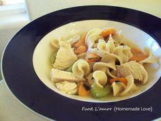 Food L'amor: {Homemade} Chick 'n Noodle