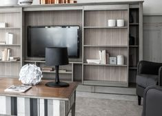 TV & Audio oplossingen | Interieur Paauwe Zonnemaire Tv Wall Decor, Bookcase, Flat Screen, Audio, Shelves, Home Decor, Blood Plasma, Shelving, Decoration Home