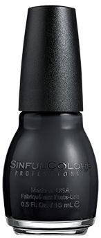 SinfulColors Black On Black
