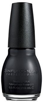 SinfulColors Black On Black