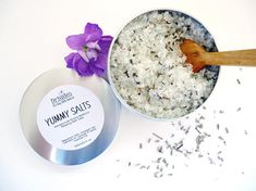 Lavender and vanilla bath salts. Relaxing and detoxifying magnesium bath soak. All natural essential oils and coconut oil bath tea. Gifts for pregnant mom, sister and daughter. Relaxing, vegan gifts for wife. Epsom Salt Bath, Lavender Bath Salts, Organic Skin Care, Natural Skin Care, Magnesium Bath Salts, Epsom Salt Cleanse, Relaxing Bath, Bath Soak, Lavender