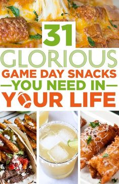 31 Glorious Game Day Snacks You Need In Your Life
