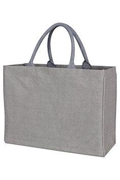 KAF Home Jute Market Tote Bag in Pewter, Durable Handle, ... https://www.amazon.com/dp/B00TRWB6SM/ref=cm_sw_r_pi_dp_x_nPO9ybX0N5C8B