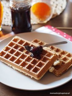 Crepes And Waffles, Gluten Free Pancakes, Gluten Free Recipes, Healthy Snacks, Recipies, Food And Drink, Vegan, Breakfast, Blog