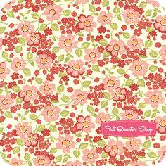 Marmalade Cotton Strawberry on Cream Jelly Yardage SKU# 55057-29 Bonnie and Camille for Moda fabric