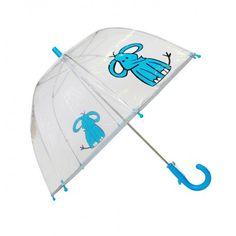 Paraguas transparente infantil diseño Elefante