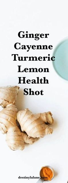 Ginger Cayenne Turmeric Lemon Health Shot An anti-inflammatory morning wellness shot I take daily to avoid getting sick, boost my immune system, and fight off any sickness. Best Nutrition Food, Health And Nutrition, Proper Nutrition, Nutrition Guide, Health Diet, Health Care, Healthy Meals For Two, Healthy Recipes, Stay Healthy