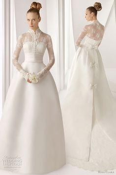 Rosa Clará Wedding Dresses 2012 Advance Collection — Lace Wedding Gowns Galore | Wedding Inspirasi