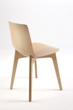 Lottus Wood High Chair by Enea Contract